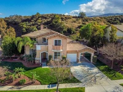 Corona Single Family Home For Sale: 1714 Tamarron Drive
