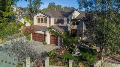 Corona Single Family Home For Sale: 2825 Hidden Hills Way