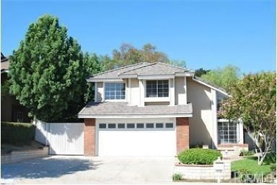 Chino Hills Single Family Home For Sale: 15904 Oak Canyon Dr