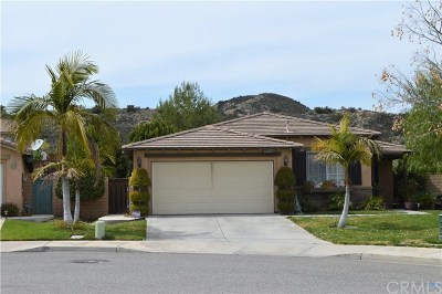 Lake Elsinore Single Family Home For Sale: 15277 Mesquite Drive