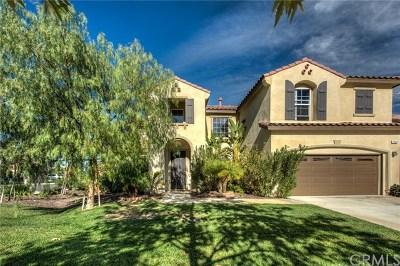 Corona Single Family Home For Sale: 7506 Sanctuary Drive