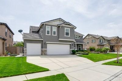 Rancho Cucamonga CA Single Family Home For Sale: $784,900
