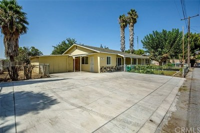Eastvale Single Family Home For Sale: 14685 Walters Street