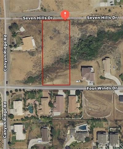 Riverside Residential Lots & Land For Sale: Seven Hills Drive
