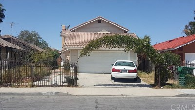 Moreno Valley Single Family Home For Sale: 24489 Gabriel Street