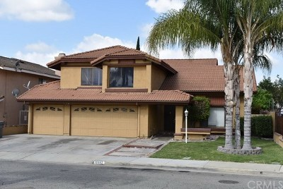 Chino Single Family Home For Sale: 12552 Arlington Place
