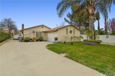 Jurupa Single Family Home For Sale: 6414 Dana Avenue