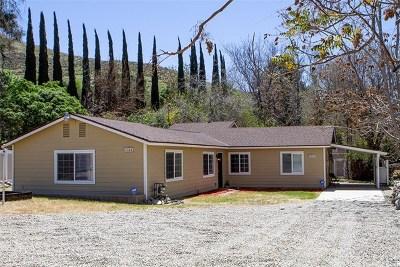 Mentone Single Family Home For Sale: 2344 Zanja Drive