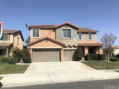 Corona Single Family Home For Sale: 6974 Highland Drive