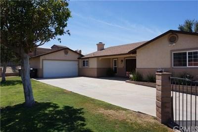 Corona Single Family Home For Sale: 7233 Bel Air Street