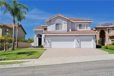 Corona Single Family Home For Sale: 3223 Crystal Ridge Cir