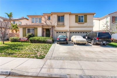 Eastvale Single Family Home For Sale: 8015 Natoma Street