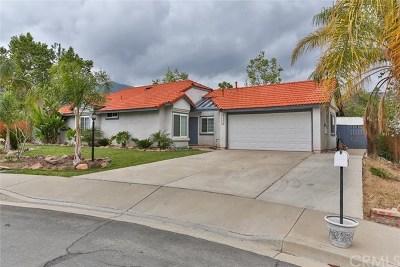 Corona Single Family Home For Sale: 23227 Canyon Estates Drive