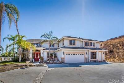 Corona Single Family Home Active Under Contract: 991 Corsica Drive
