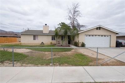 San Jacinto Single Family Home For Sale: 527 S Hewitt Street