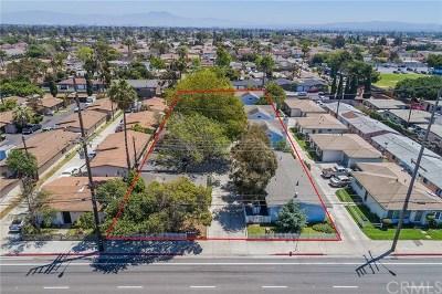 Costa Mesa Multi Family Home For Sale: 2218 Placentia Avenue