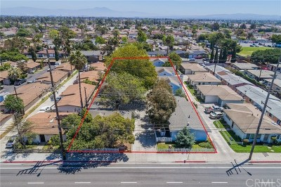 Costa Mesa Single Family Home For Sale: 2218 Placentia Avenue