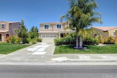 Menifee CA Single Family Home For Sale: $529,900