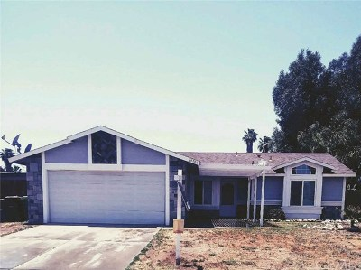 Menifee CA Single Family Home For Sale: $324,999