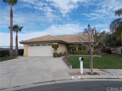Corona Single Family Home For Sale: 2587 Pinnacle Circle