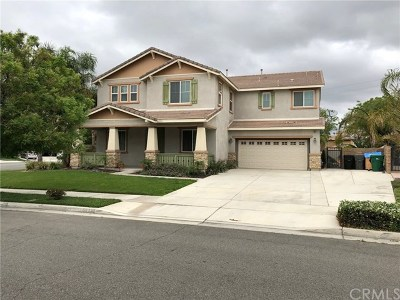 Eastvale Single Family Home For Sale: 6847 Highland Drive