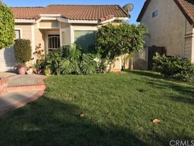 Fontana Single Family Home For Sale: 14021 Hillcrest Drive