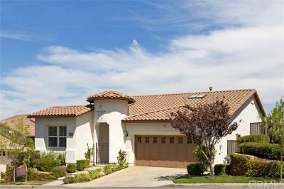 Corona Single Family Home For Sale: 24086 Fawnskin