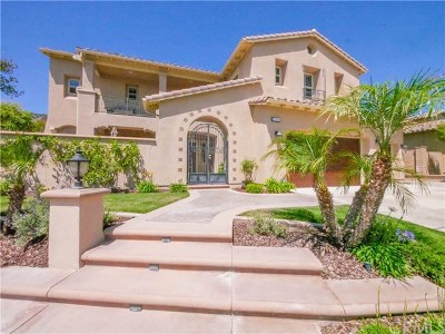 Corona Single Family Home For Sale: 22449 Leisure Drive