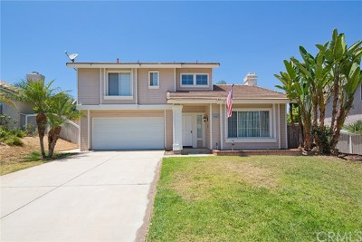 Corona Single Family Home For Sale: 26709 Kicking Horse Drive