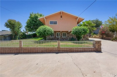 Riverside Single Family Home For Sale: 3601 Temescal Avenue