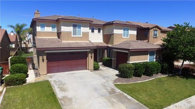 Winchester Single Family Home For Sale: 26131 Arras Drive