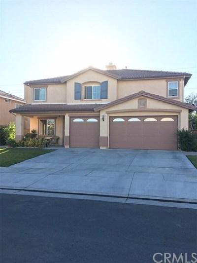 San Jacinto Single Family Home For Sale: 609 Meadow View Drive