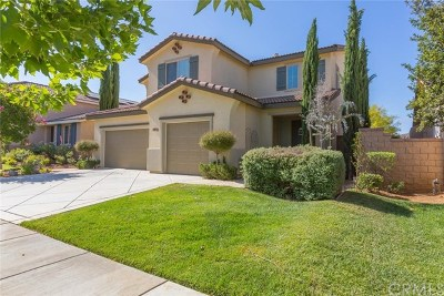 Lake Elsinore Single Family Home For Sale: 34031 Corktree Road