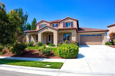 Eastvale Single Family Home Active Under Contract: 14780 Meadows Way