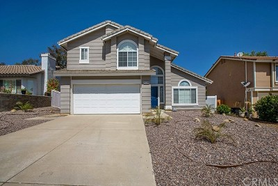 Corona Single Family Home For Sale: 26911 Lightfoot Drive