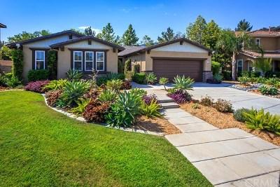Corona Single Family Home For Sale: 1230 Bonsai Circle