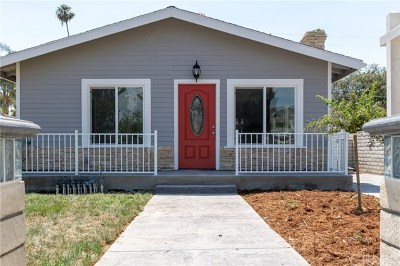 Glendora Single Family Home For Sale: 431 N Cullen Avenue