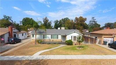 Riverside Single Family Home For Sale: 3629 Hoover Street