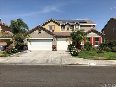 Perris Single Family Home For Sale: 1647 Alberhill Street