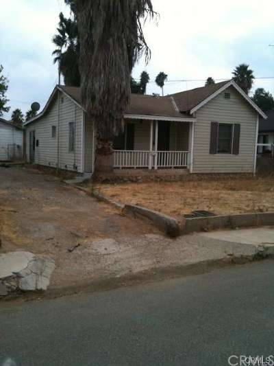Riverside, Temecula Single Family Home For Sale: 1632 Oxford Street