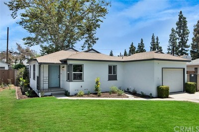 Fullerton Single Family Home For Sale: 208 Russell Avenue