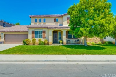 Eastvale Single Family Home Active Under Contract: 6852 Red Cardinal Court