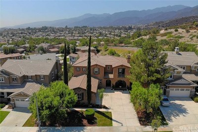 Corona Single Family Home For Sale: 8751 Gentle Wind Drive