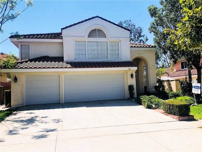 Corona Single Family Home For Sale: 1580 Dominguez Ranch Road