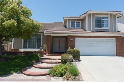 La Mirada Single Family Home For Sale: 16045 Crestline Drive