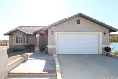 Rosamond Single Family Home For Sale: 2393 Sam Street