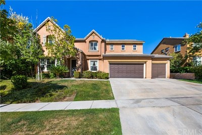 Corona Single Family Home For Sale: 3315 Clearing Lane