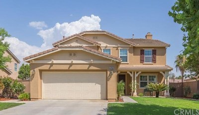 Corona Single Family Home For Sale: 24406 Thunder Court