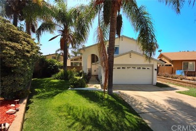 Rancho Cucamonga Single Family Home For Sale: 6531 Aquamarine