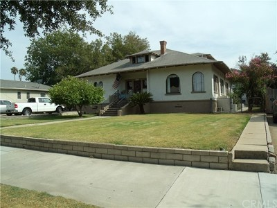 Riverside Single Family Home For Sale: 1209 E Grand Boulevard